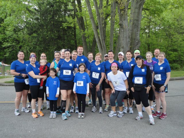 1st 5k for these Towpath Turtles
