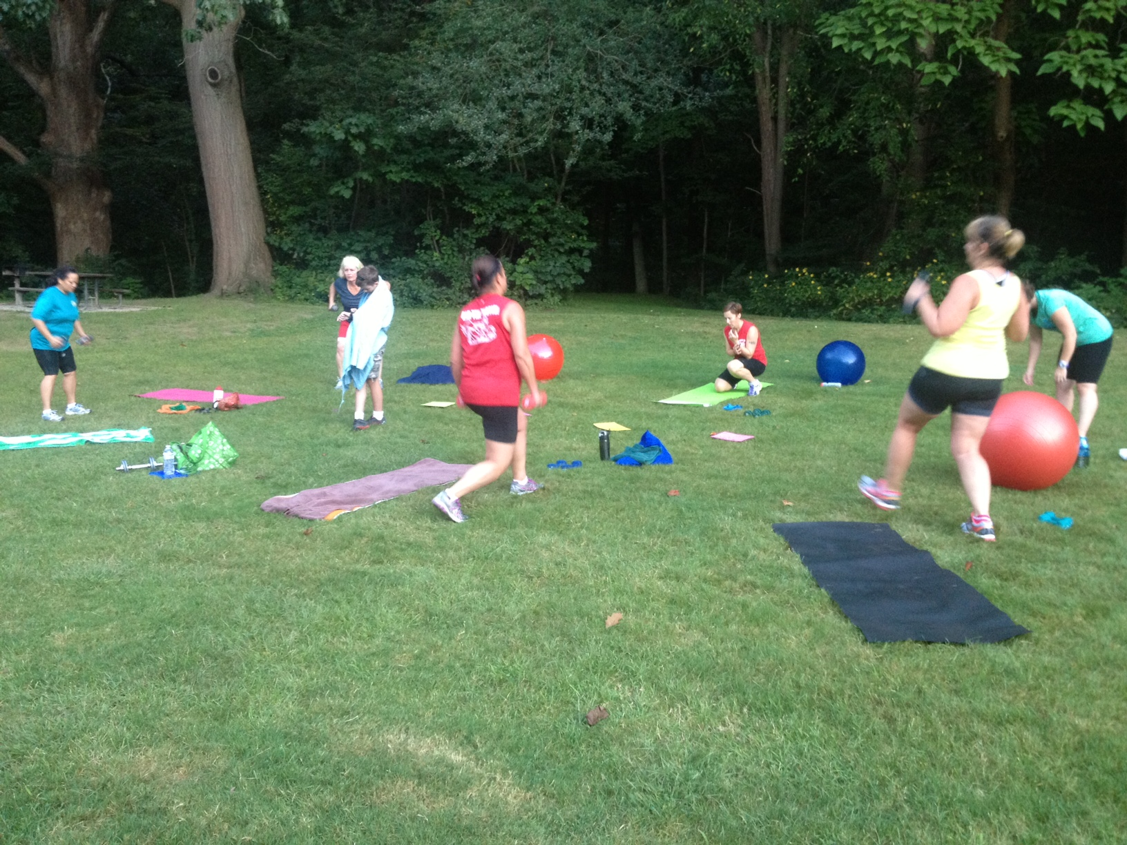 OneLifeFit Mobile - Sand Run Park